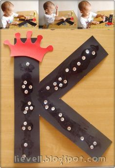 d'lievell: Pre-Nursery : K for King