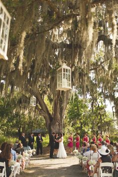Great space for a wedding ceremony!    Photo:  Tina Bass Photography  Venue:  Cross Creek Ranch, Dover, FL