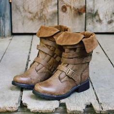 Jones Cuffed Boot, Sweet Rugged Women's Boots