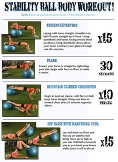 body workouts, fit, balls, stability ball exercises, workout diet
