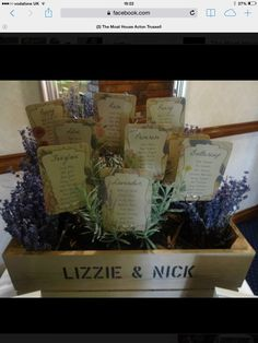Fantastic table plan at The Moat House #moathouseactontrussell #wedding #lavender