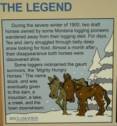 Hungry Horse, how the name happened.