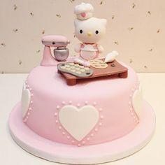 Hello Kitty Cook Cake