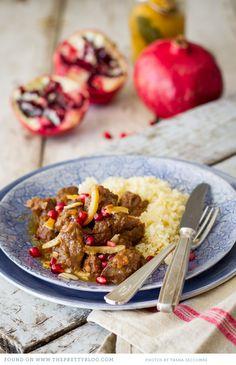 Moroccan Lamb & Date Tagine