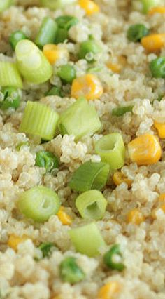 Spring Quinoa with Peas and Corn
