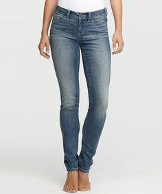 Look at this #zulilyfind! Vintage Denim Shaper Skinny Jeans - Women & Plus by Yummie by Heather Thomson #zulilyfinds