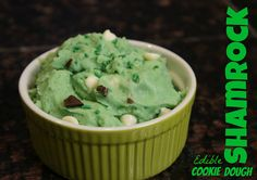 Shamrock Style Edible Cookie Dough