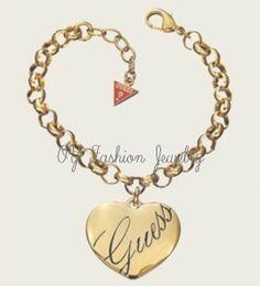 Nova moda coração charme pulseira carta de ouro e de prata frete grátis b2-100