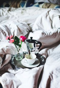 Have breakfast in bed