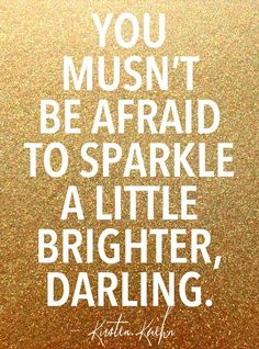 Sparkle darling.