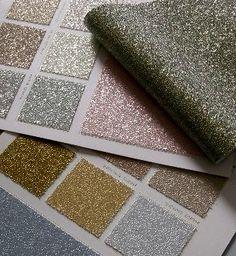 glitter wall paper!