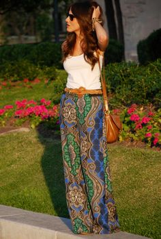 Get ready...Palazzo pants are back....I bought my 2 pairs today