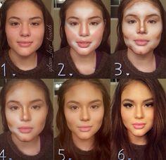 make up tutorial, contour makeup, makeup tutorials, the face, face contouring, make a difference, makeup ideas, makeup designs, makeup contouring