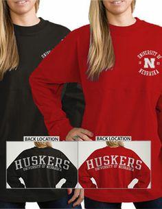 Product: University of Nebraska - Lincoln Huskers Women's Ra Ra Football Long Sleeve T-Shirt