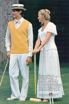 edwardian croquet circa 1978