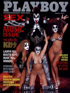 Playboy magazine cover March 1999