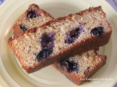 Hot Eats and Cool Reads: Lemon Blueberry Summer Squash Bread with Lemon Glaze Recipe