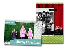 Blog with tons of links to free printable Christmas card templates
