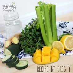 Mango Ginger Immune Support - Simple Green Smoothies