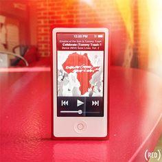 Apple (PRODUCT)RED iPod nano + #danceRED album