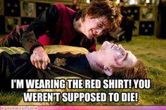 red shirt humor
