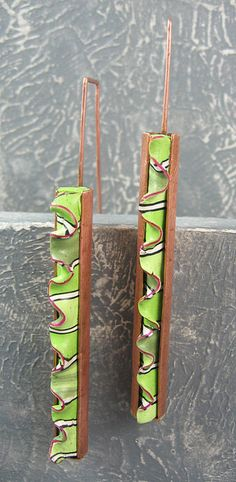 earrings by Sharon Solly
