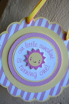 simply captivating events - the paper blossom shop: The Paper Blossom Shop: Little Sunshine