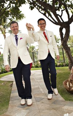 Congrats to the happy groom and groom!