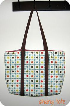 diaper bags, tote tutori, tea towels, beach bags, spring tote, bag tutorials, baby bags, tote bags, sewing tutorials