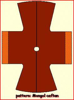 An easy to follow pattern to make a kaftan dress