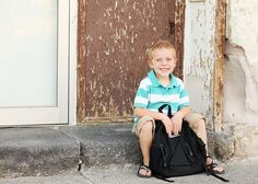 Back to School portraits by Kandis Smith