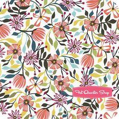 Garden Party Tango Multi Small Floral Yardage SKU# 38893-X
