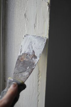 How To Repair and Prep Cracked and Crumbling Walls for Painting  Apartment Therapy Tutorials