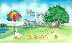 Birthday Ducks