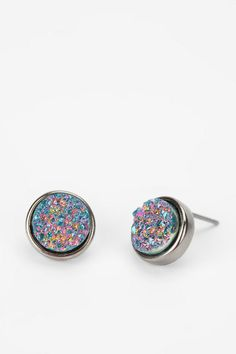 Druzy Stone Earring  #UrbanOutfitters