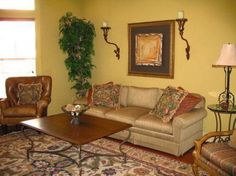 Living room on pinterest living room furniture corner for Palm tree living room ideas