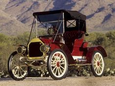 1908 Staver Runabout - (Staver Carriage Co. Auburn Park, Illinois1907-I914)