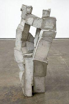 a sculpture by gustavo godoy called 'brick'