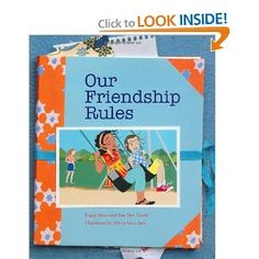 """""""Our Friendship Rules"""" by Peggy Moss is a great book to use in elementary school girl groups relating to friendship and relational aggression.  For more innovative ideas, creative lessons and quality resources, visit School Counselor Blog - www.schcounselor.com. ($7.95)"""