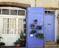 purpl color, purpl backdrop, door, french blue