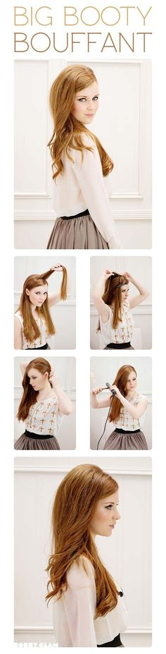 The bigger the hair... #retro #hairstyle