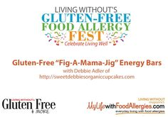 Debbie Adler does a class at the Indy Gluten-free Allergy-free Festival on how to make Fudgy Fig-A-Mama-Jig Energy Bars!