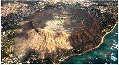 Hiking inside the heart of Diamond Head Volcano Crater- Ohau, Hawaii