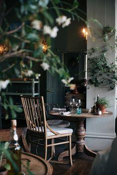 interior design, countri hotel, the pig hotel, place, garden