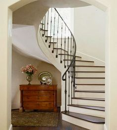 When I win the lottery and build a house, it will have these stairs in it.