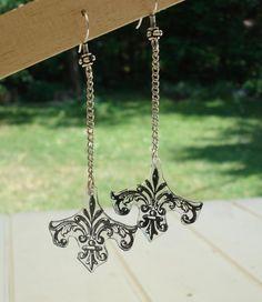 Earrings candelabras