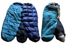The BarkerBag is a sleeping bag for dogs that attaches to the outside of your sleeping bag, keeping both you and your dog warm, safe, and oh-so-cozy! How brilliant is that? dog sleep, sleeping bags, sleep bag, dog milk