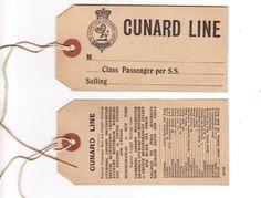 #Vintage #Cunard
