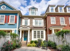 New townhome with private courtyard. Ashcroft #214 | Legacy At The River Line | Mableton, GA