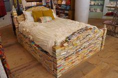 paper, book bedfram